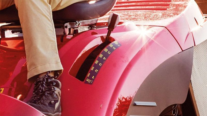 Tondeuse autoportée Honda HF 1211 H