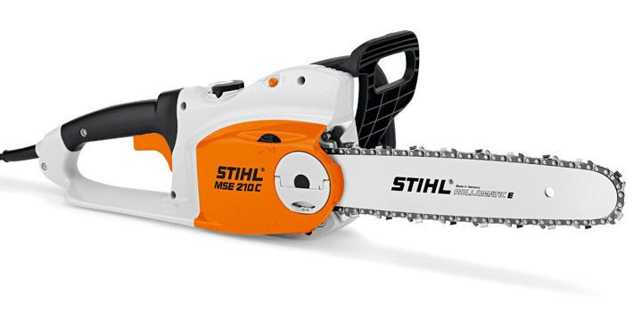 Tronçonneuse électrique STIHL MSE 210 C-B