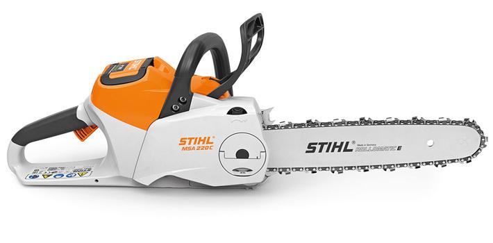 Tronçonneuse à batterie STIHL MSA 220 C-B